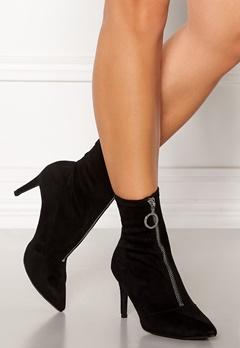 New Look Zip Ankle Boots Black Bubbleroom.dk