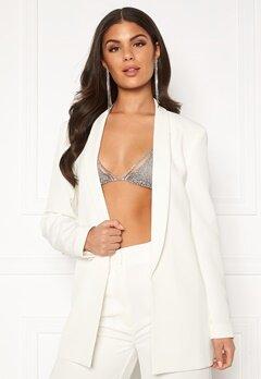 Nicole Falciani X Bubbleroom Nicole Falciani Suit Jacket White Bubbleroom.dk