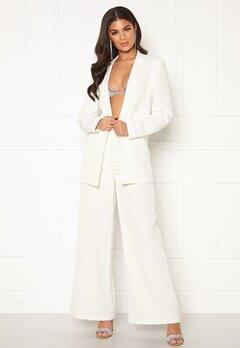Nicole Falciani X Bubbleroom Nicole Falciani Suit Pants White Bubbleroom.dk
