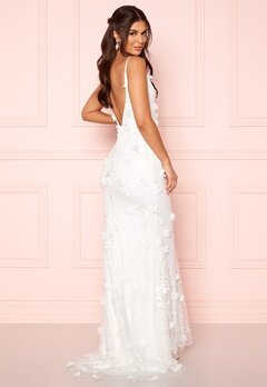Nicole Falciani X Bubbleroom Nicole Falciani Wedding Gown White Bubbleroom.dk