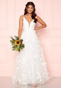 Nicole Falciani X Bubbleroom Nicole Falciani Wedding Skirt White Bubbleroom.dk