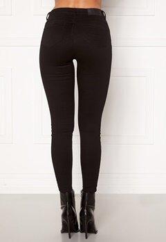 Noisy May Jen NW S.S Shaper Jeans Black Bubbleroom.dk