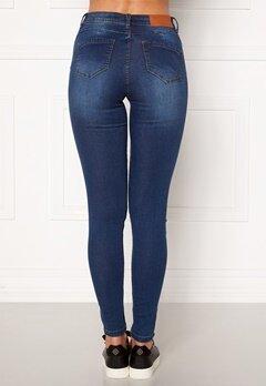 Noisy May Jen NW S.S Shaper Jeans Medium Blue Denim Bubbleroom.dk