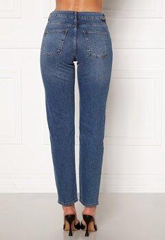 Noisy May Jenna NW Straight Jeans Medium Blue Denim bubbleroom.dk