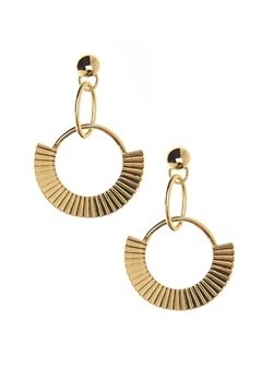 NORR by Erbs Nila Earrings Gold Bubbleroom.dk