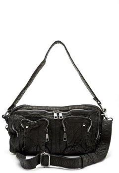 Nunoo Alimakka Washed Bag Black Bubbleroom.dk