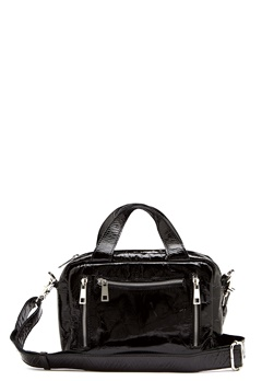 Nunoo Donna Gloss  Bag Black Bubbleroom.dk