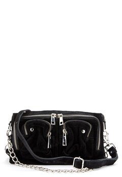 Nunoo Stine Chain Suede Bag Black Bubbleroom.dk