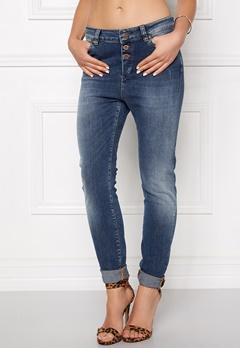 OBJECT Ally Antifit 467 Jeans Dark Blue Denim Bubbleroom.dk