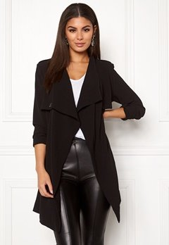 OBJECT Ann Lee Short Jacket Black Bubbleroom.dk