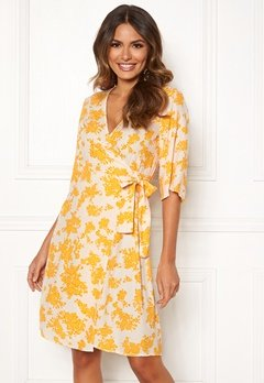OBJECT Bea 2/4 Dress Elfin Yellow Bubbleroom.dk