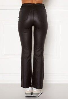 Object Collectors Item Belle 7/8 Coated Flared Pant Black bubbleroom.dk