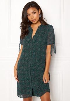 OBJECT Casey S/S Shirt Dress Pine Grove Bubbleroom.dk