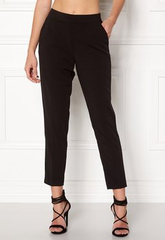 OBJECT Cecilie 7/8 Pants Black Bubbleroom.dk