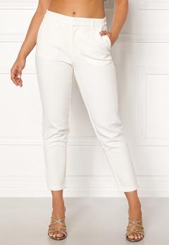 OBJECT Cecilie Lux 7/8 Pants Gardenia Bubbleroom.dk