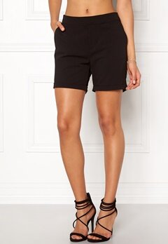 OBJECT Cecilie Shorts Black Bubbleroom.dk
