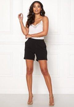 OBJECT Cecilie Shorts Black Bubbleroom.dk