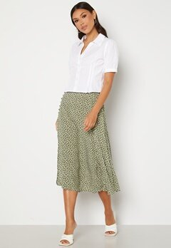 OBJECT Celeste Skirt Deep Lichen Green AO Bubbleroom.dk
