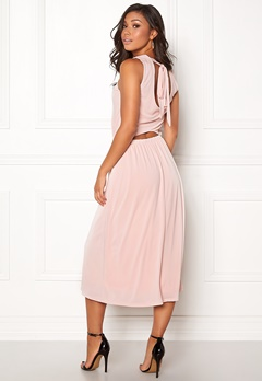 OBJECT Dede S/L Long Dress Hushed Violet Bubbleroom.dk