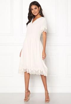 OBJECT Emmy S/S Dress Gardenia Bubbleroom.dk