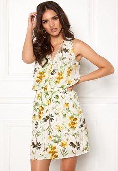 OBJECT Floressa S/L Dress Gardenia Bubbleroom.dk