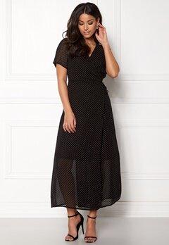 OBJECT Gamilla S/S Long Dress Shady Glade Bubbleroom.dk
