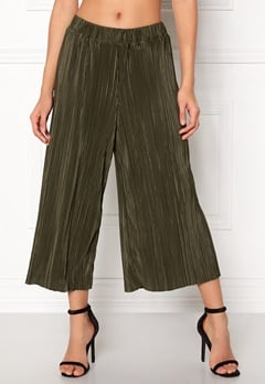 OBJECT Jacobina mw Coulotte Pant Ivy Green Bubbleroom.dk