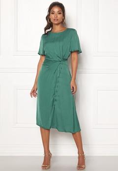 OBJECT Jeanett S/S Dress Blue Spruce Bubbleroom.dk