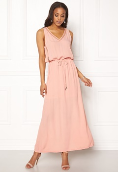 OBJECT Josephine s/l Maxi Dress Misty Rose Bubbleroom.dk