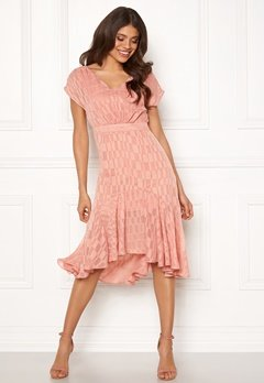 OBJECT Kelsey S/S Dress Misty Rose Bubbleroom.dk
