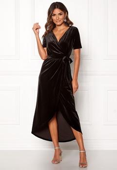 OBJECT Noreena 3/4 Wrap Dress Black Bubbleroom.dk