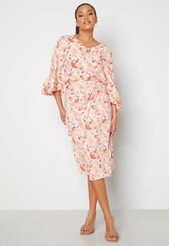 OBJECT Obdulia HW Skirt Sandshell / Flower Bubbleroom.dk