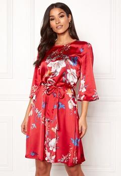 OBJECT Pammy 3/4 Pam Dress Fiery Red Bubbleroom.dk