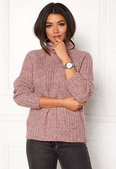 OBJECT Patricia Knit Pullover Withered Rose Bubbleroom.dk