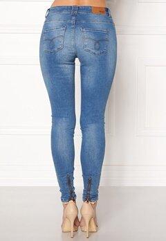 OBJECT Sarah Skinny Jeans Medium Blue Denim Bubbleroom.dk