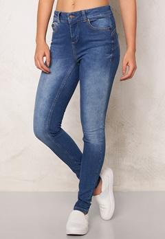 OBJECT Skinny Sally 205 Jeans Medium Blue Denim Bubbleroom.dk