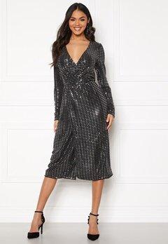 OBJECT Sola L/S Dress Black Bubbleroom.dk