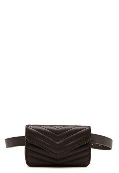 OBJECT Steff PU Quilt Belt Bag Black Bubbleroom.dk