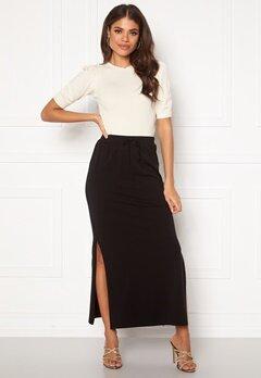 OBJECT Stephanie Maxi Skirt Black Bubbleroom.dk