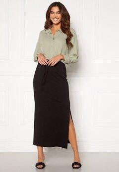OBJECT Stephanie Maxi Skirt Black<br>  Bubbleroom.dk