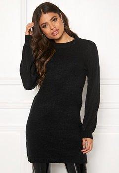 OBJECT Eve Nonsia Knit Dress Black Bubbleroom.dk