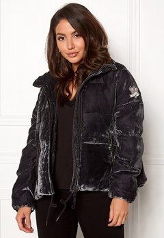 Odd Molly Embrace Velvet Jacket Asphalt Bubbleroom.dk