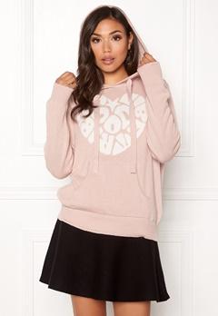 Odd Molly Hey Baby Hood Sweater Pink Sand Bubbleroom.dk