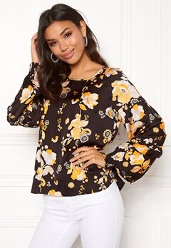 Odd Molly Love Bells Blouse Almost Black Bubbleroom.dk