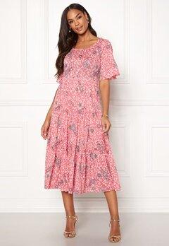 Odd Molly Lush Shake Dress Blush Pink Bubbleroom.dk