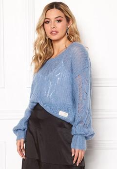 Odd Molly Mystery Fields Sweater Heritage Blue Bubbleroom.dk