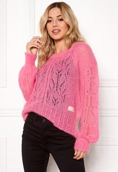 Odd Molly Mystery Fields Sweater Pink Lemonade Bubbleroom.dk