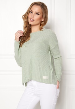 Odd Molly Retreat Sweater Soft Green Bubbleroom.dk