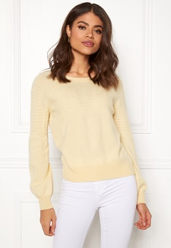 Odd Molly Soft Pursuit Sweater Light Yellow Bubbleroom.dk