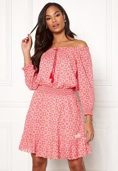 Odd Molly Stayin Free Dress Blush Pink Bubbleroom.dk